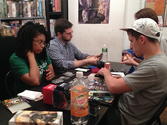 Monique, Josh, and Kadar in round three.