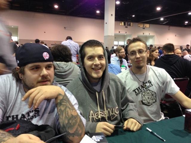 David, Daniel, and Joe.