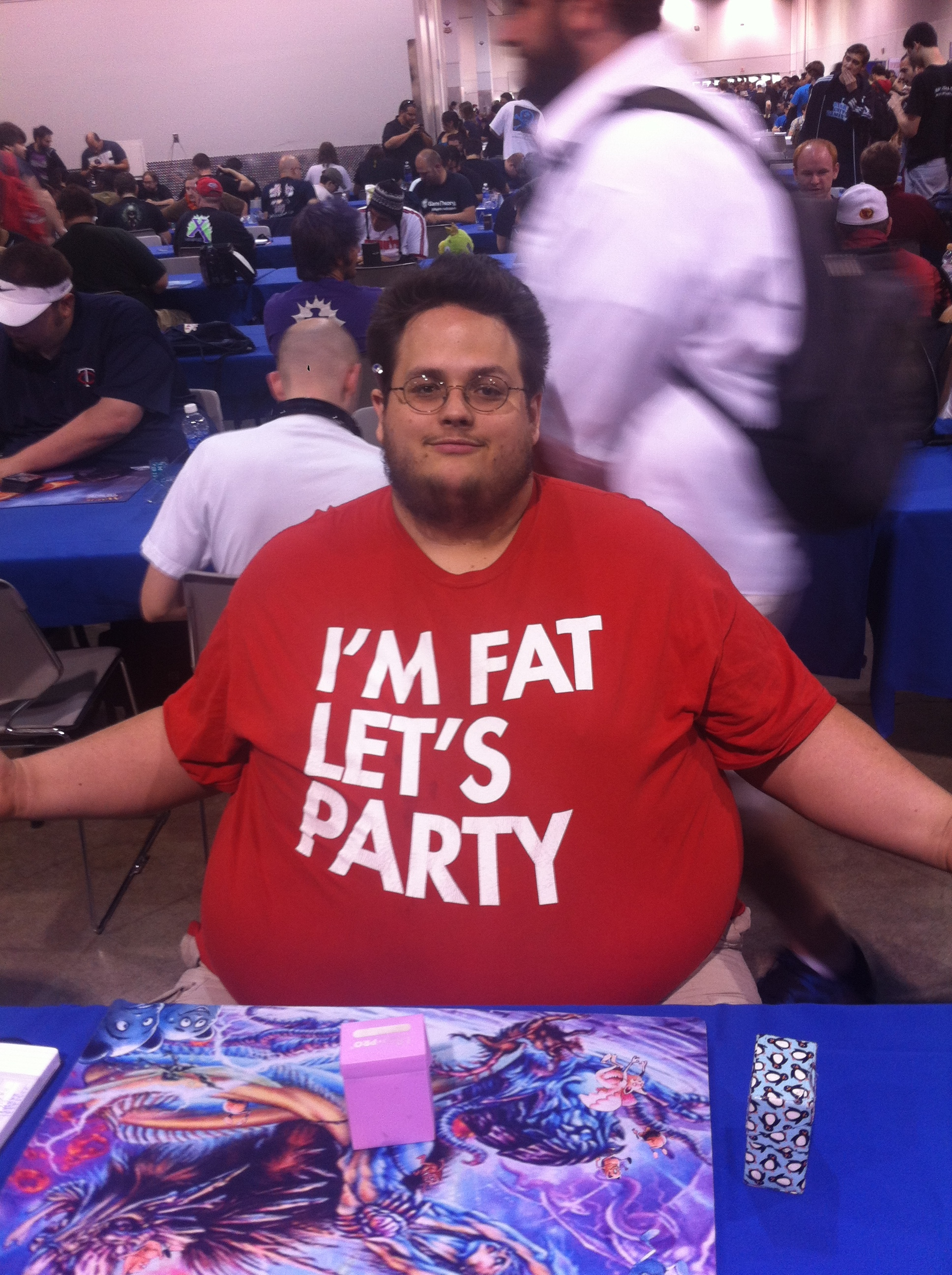Grinding It Out—The Many T Shirts of GP Las Vegas Hipsters of the