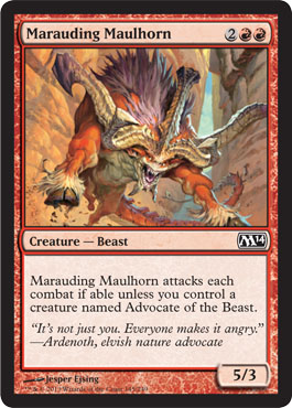 Marauding Maulhorn