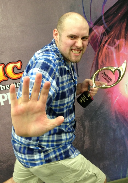 Team SCG's Brian Braun-Duin took home the trophy at GP Louisville this weekend.