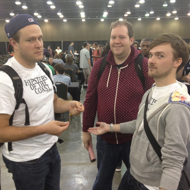 Matt, Brendan, and Dave at GP Oklahoma City.
