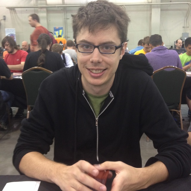 Crossman, a game-design professor from LA, my R3 (R5) opponent.