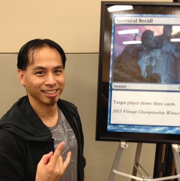 Joel Lim won the Vintage Championship with Merfolk, taking home the alternate art Ancestral Recall.