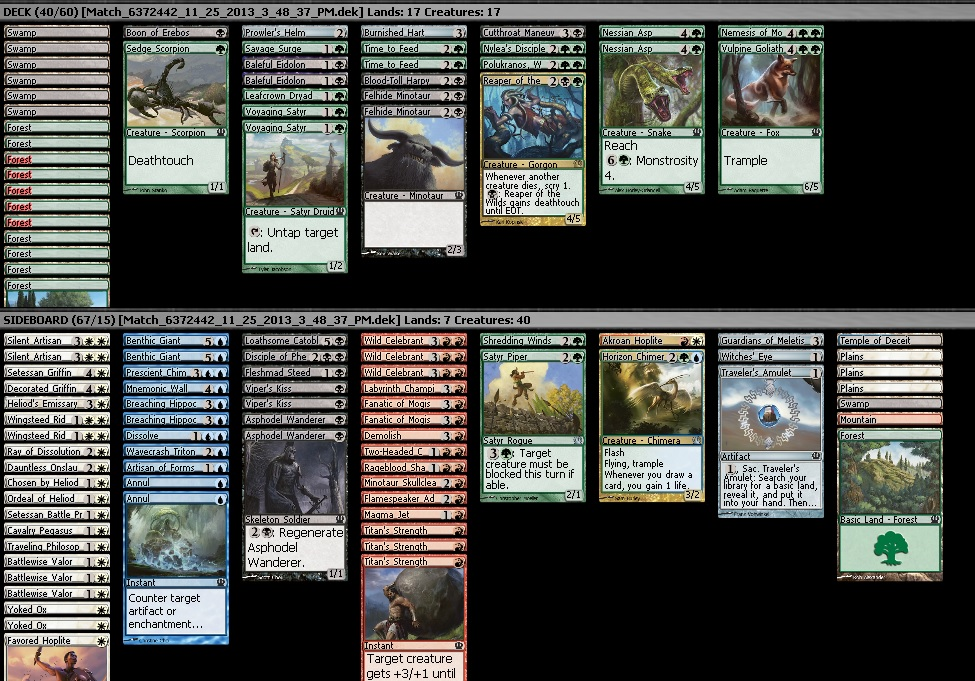 theros sealed choice 1