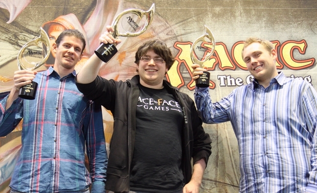 Rich Hoaen, Mike Hron, and Alexander Hayne traveled across the world to win GP Kyoto.