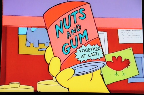 nuts and gum