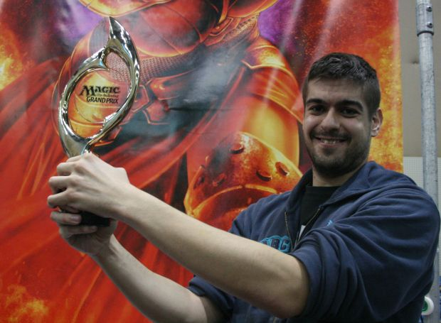 Spanish tournament grinder Javier Dominguez took home the top prize in Legacy this weekend at GP Paris