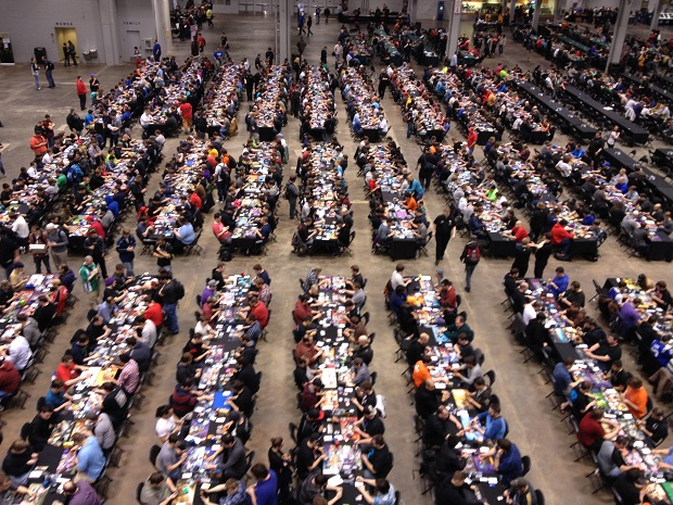 Over 1700 people came to the first ever Cincinnati Grand Prix to play Standard Constructed