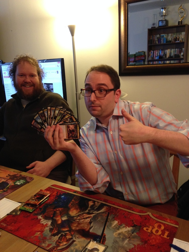 Longo opened up a god pack in our Team Draft League draft!