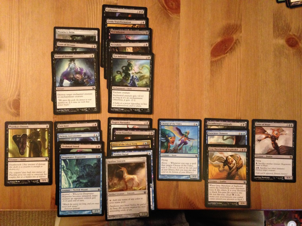 My Team Draft League deck.
