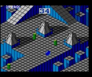 Marble Madness, 1992, Mark Cerny, Steve Lamb, SEGA Master System
