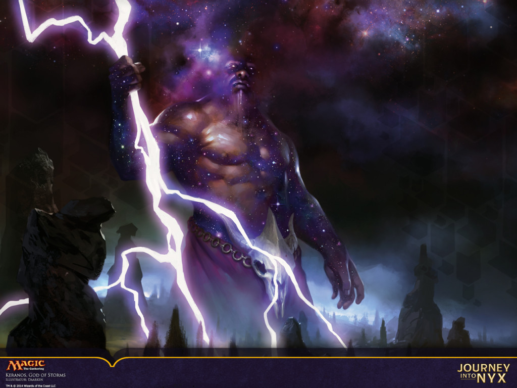 It's not really a pantheon without a storm-god is it?