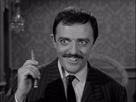 Everyone remembers the Raul Julia incarnation, but his original actor was good too!