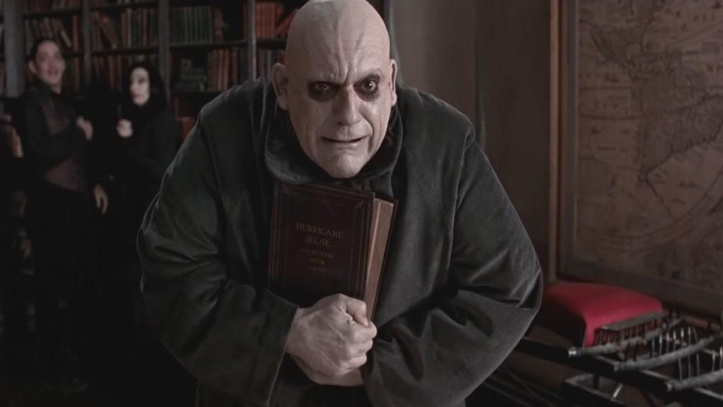 The last time I saw Christopher Lloyd in something he got violated by an eel. I have to think Fester would approve.