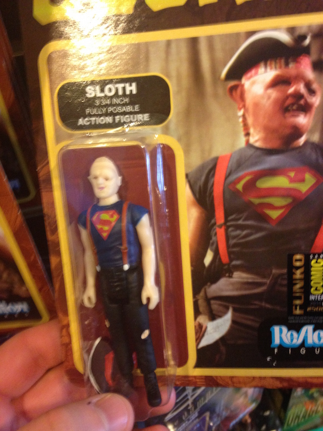 Undiscovered Realm is kind of a weird hybrid card shop/toy store, and they had a wall of super-old action figures including this one, which is basically the weirdest action figure ever.