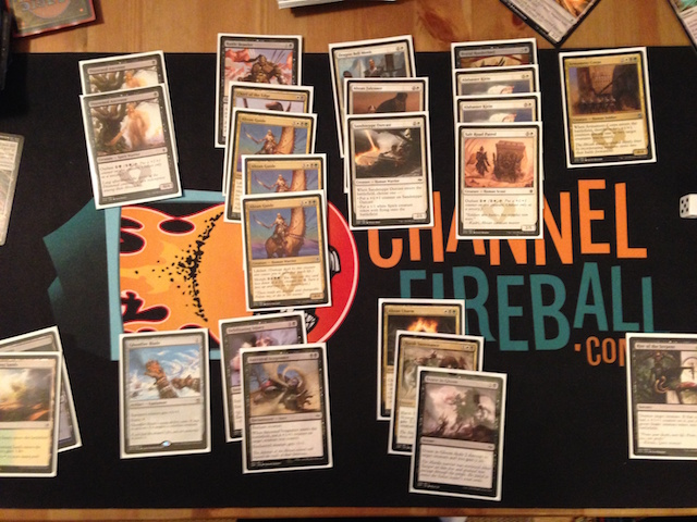 2-1 Abzan; seemed to be open when the Guides kept going around
