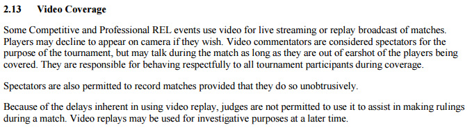 Magic: the Gathering Tournament Rules Effective March 27, 2015