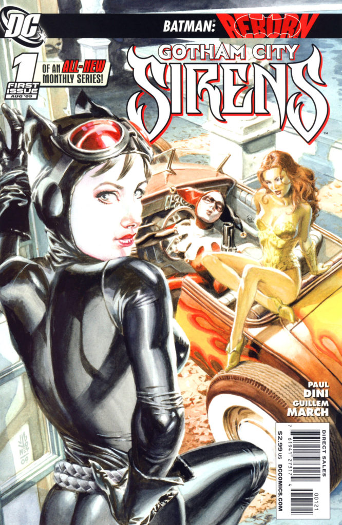 And irritating cover art. The underlying story wasn't as awful as it was made to seem, but this was definitely where the objectification of Harley and friends started to get bad.