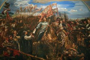 King Jean Sobieski of Poland sending news of victory over the Turks.