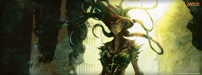 Vraska is going to show up in a wild finale.