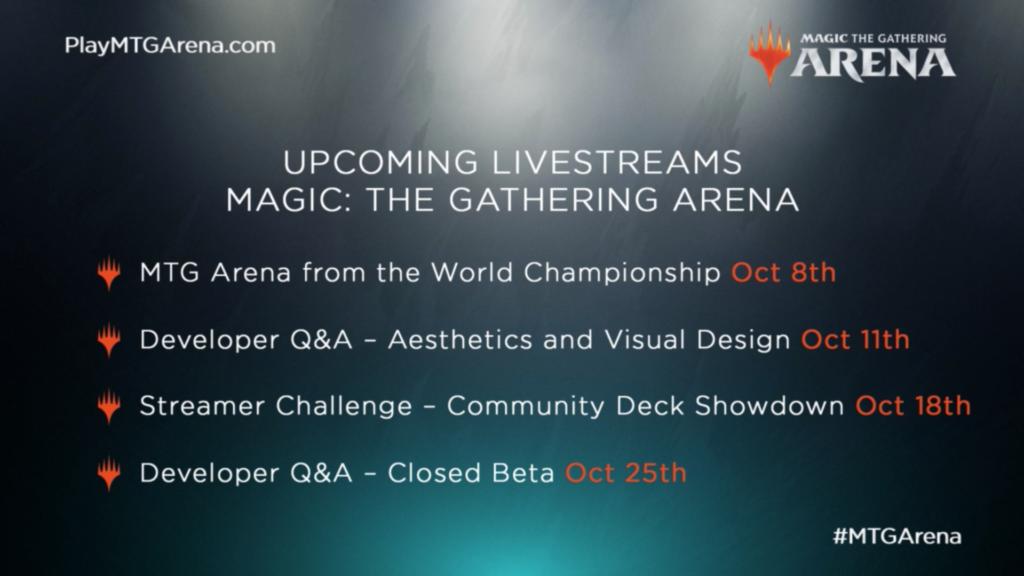 MTG Arena: No Trading, Closed Beta Starts in November - Hipsters of