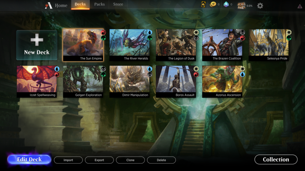 How To Play the MTG Arena Closed Beta: Client Overview
