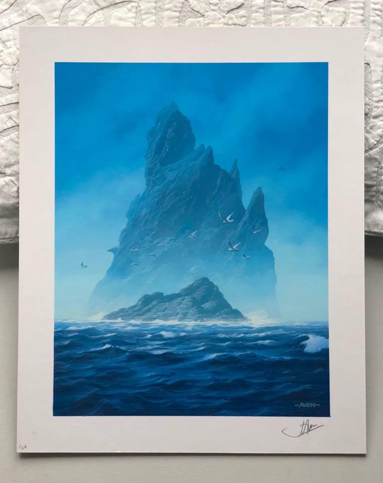 John Avon's Unstable Full-Art Island Painting Sells for ...