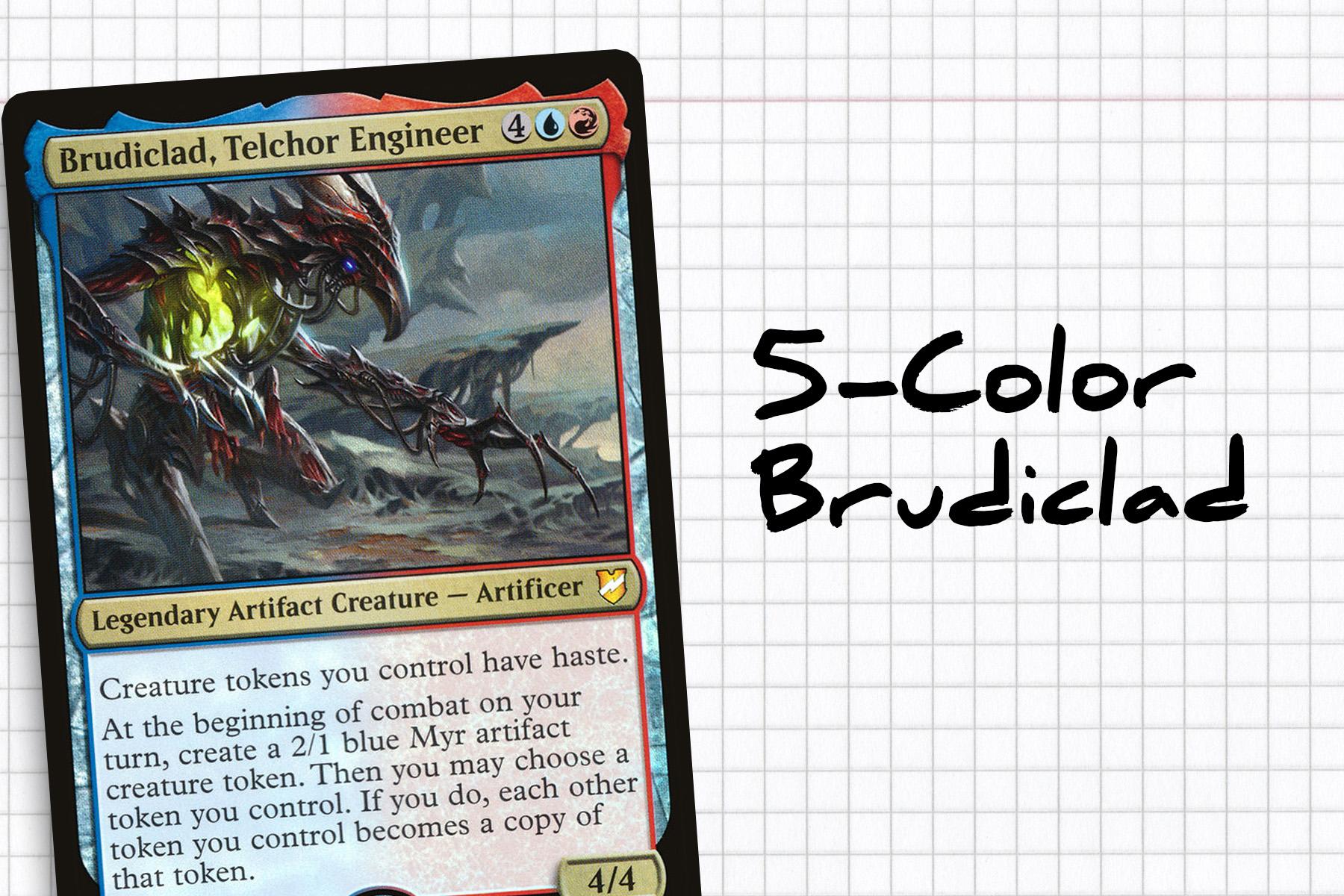 five-color brudiclad