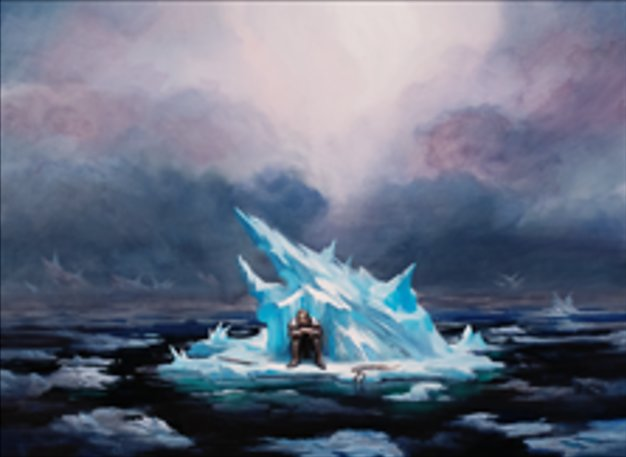 Image result for on thin ice art mtg