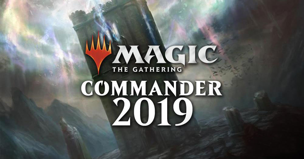 Magic: the Gathering Commander 2019 banner
