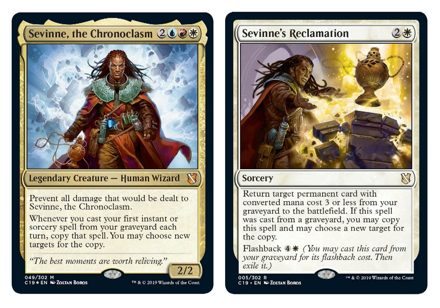 All 4 Commanders from Commander 2019 Revealed at Gencon