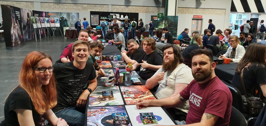 Vince with some of his Patrons & fans at GP Birmingham