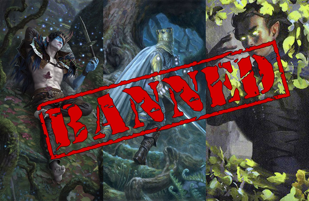 preview image for Banned in Standard: Oko, Thief of Crowns, Once Upon a Time, and Veil of Summer