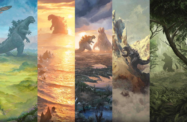 Godzilla Lands Are Here!